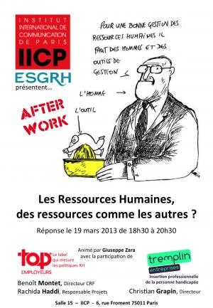 L'afterwork Ressources Humaines