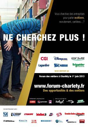 Forum Charléty - Venez échanger avec de grands recruteurs !