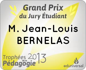 Les lauréats des Trophées de la Pédagogie 2013 !