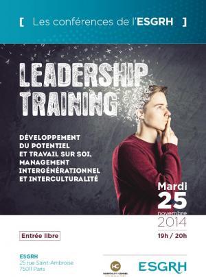 """Retour sur la conférence """"Leadership Training"""""""