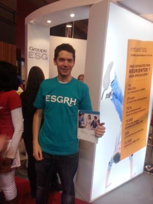 Le Bachelor ESG au Salon Européen de l'Education