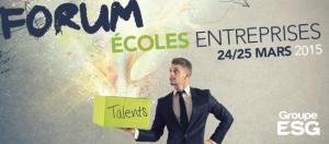 Retour sur le forum ECOLES ENTREPRISES du Groupe ESG