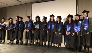 Cérémonie de remise des diplômes, promotion 2018